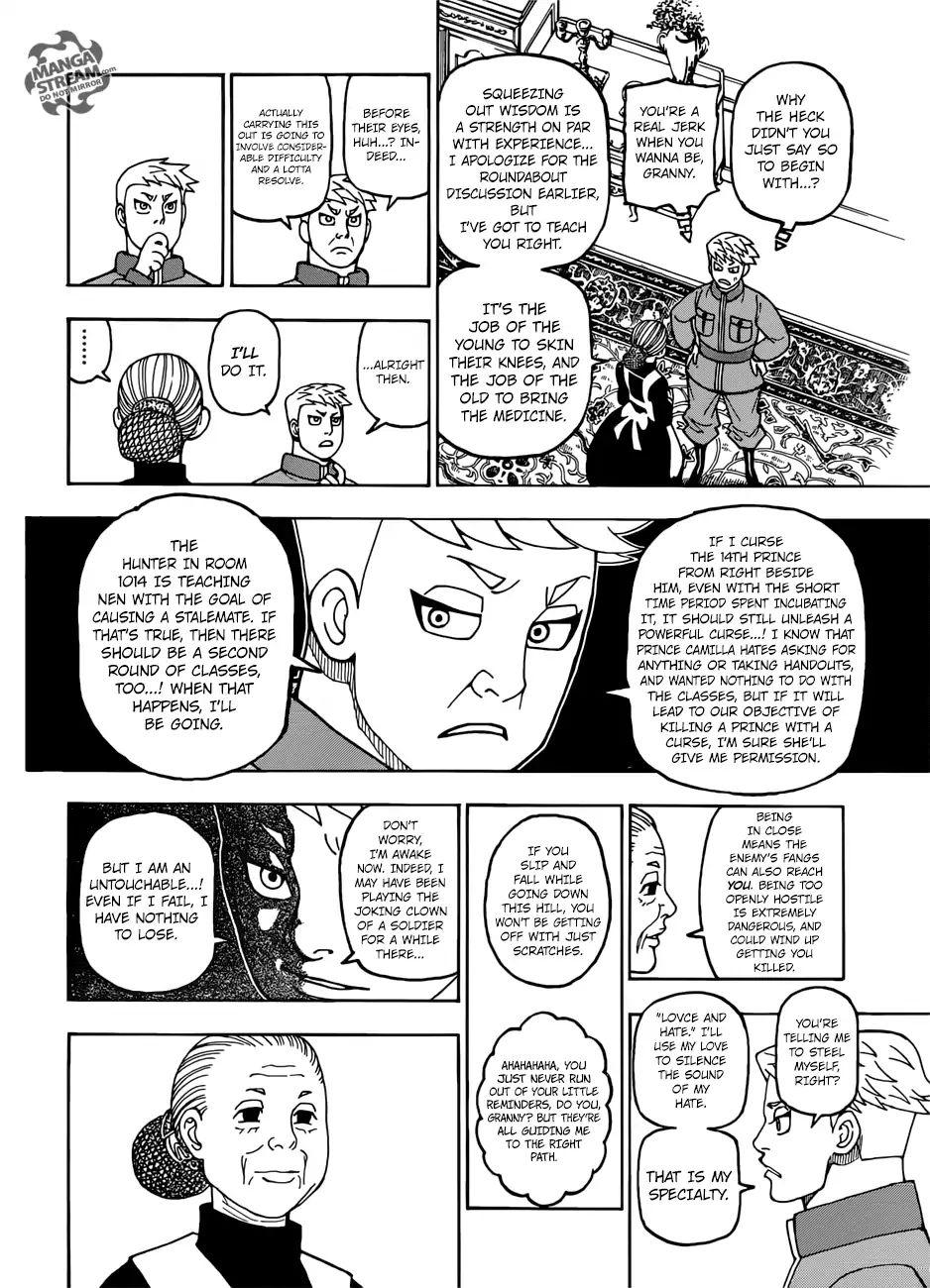 Hunter X Hunter Chapter 389  Online Free Manga Read Image 19