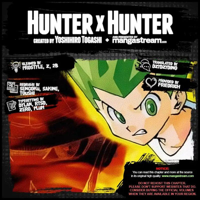 Hunter X Hunter Chapter 389  Online Free Manga Read Image 2