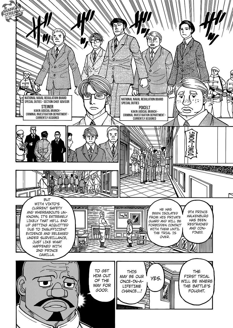 Hunter X Hunter Chapter 389  Online Free Manga Read Image 9