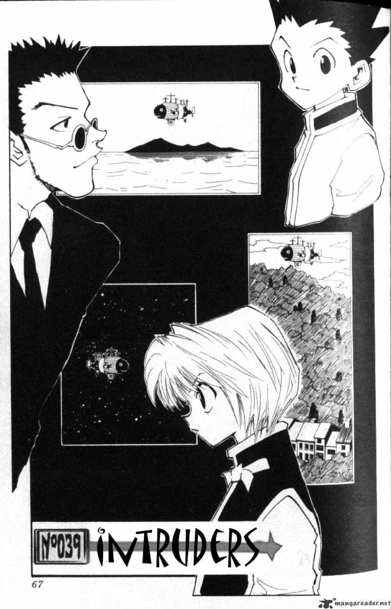 Hunter X Hunter Chapter 39  Online Free Manga Read Image 2