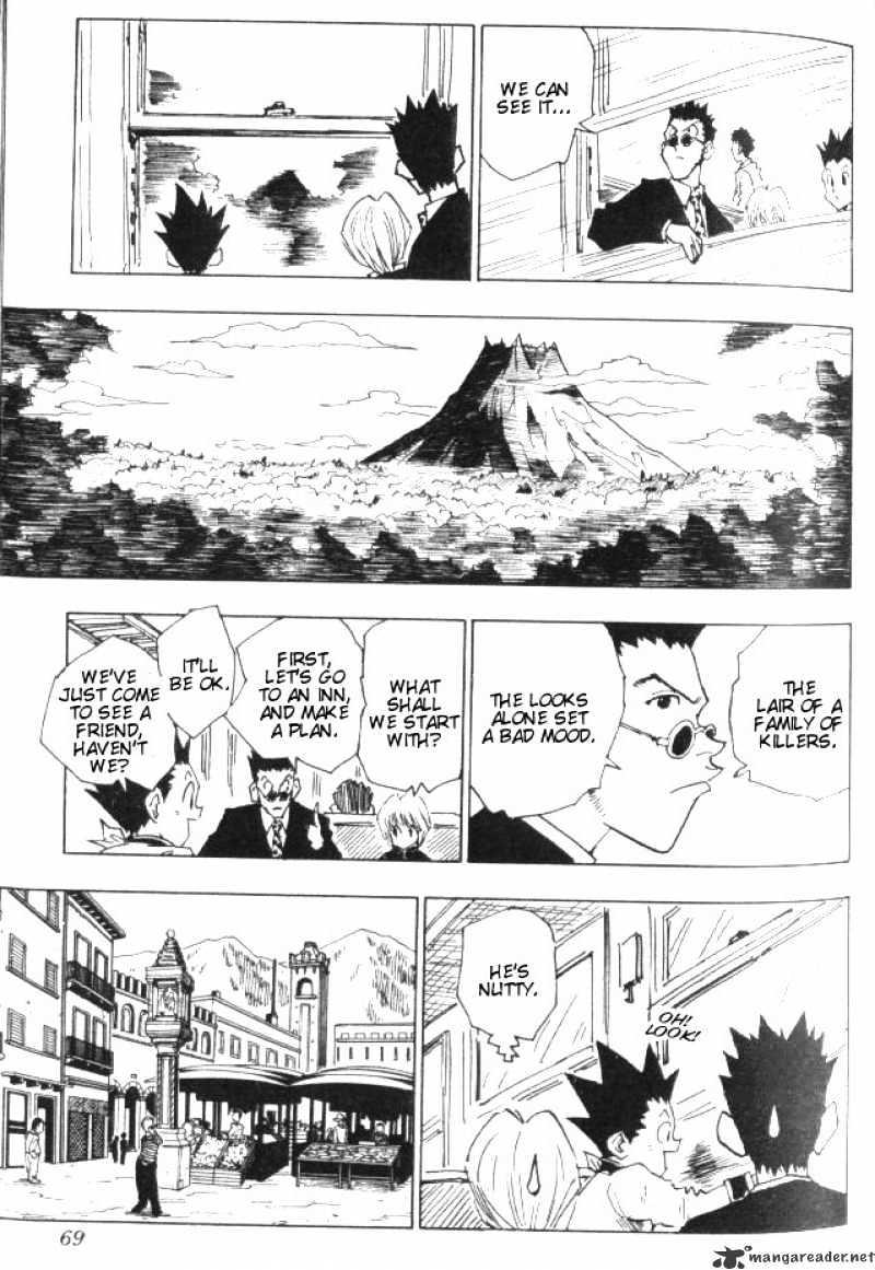 Hunter X Hunter Chapter 39  Online Free Manga Read Image 4