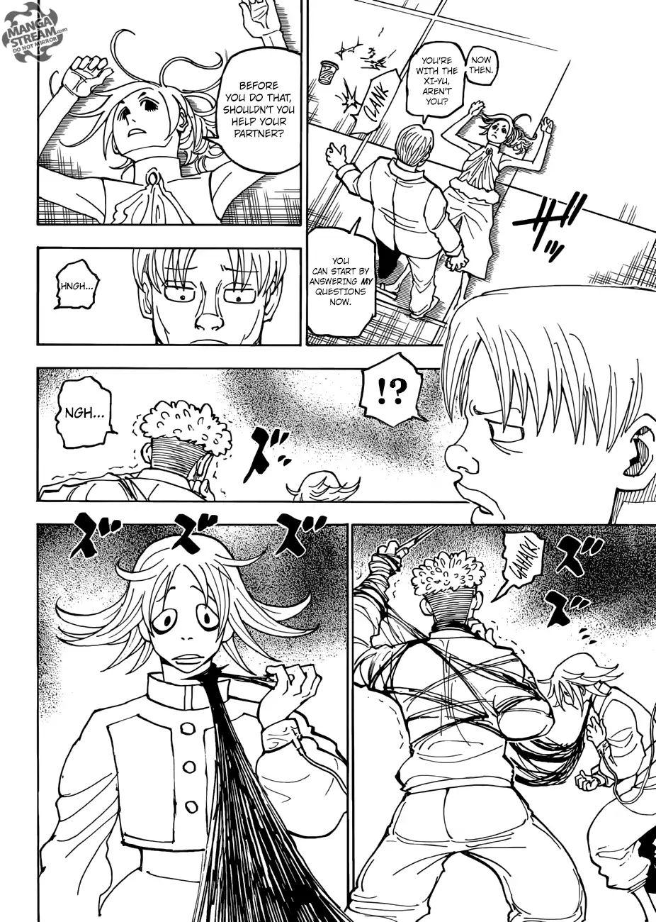 Hunter X Hunter Chapter 390  Online Free Manga Read Image 15