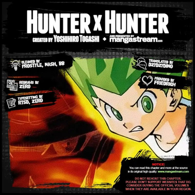 Hunter X Hunter Chapter 390  Online Free Manga Read Image 2