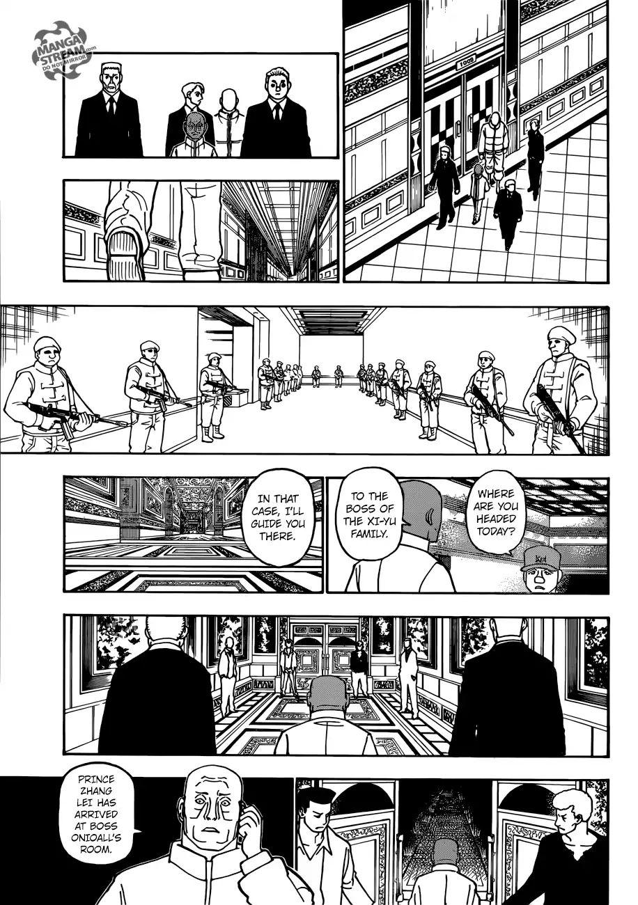 Hunter X Hunter Chapter 390  Online Free Manga Read Image 4