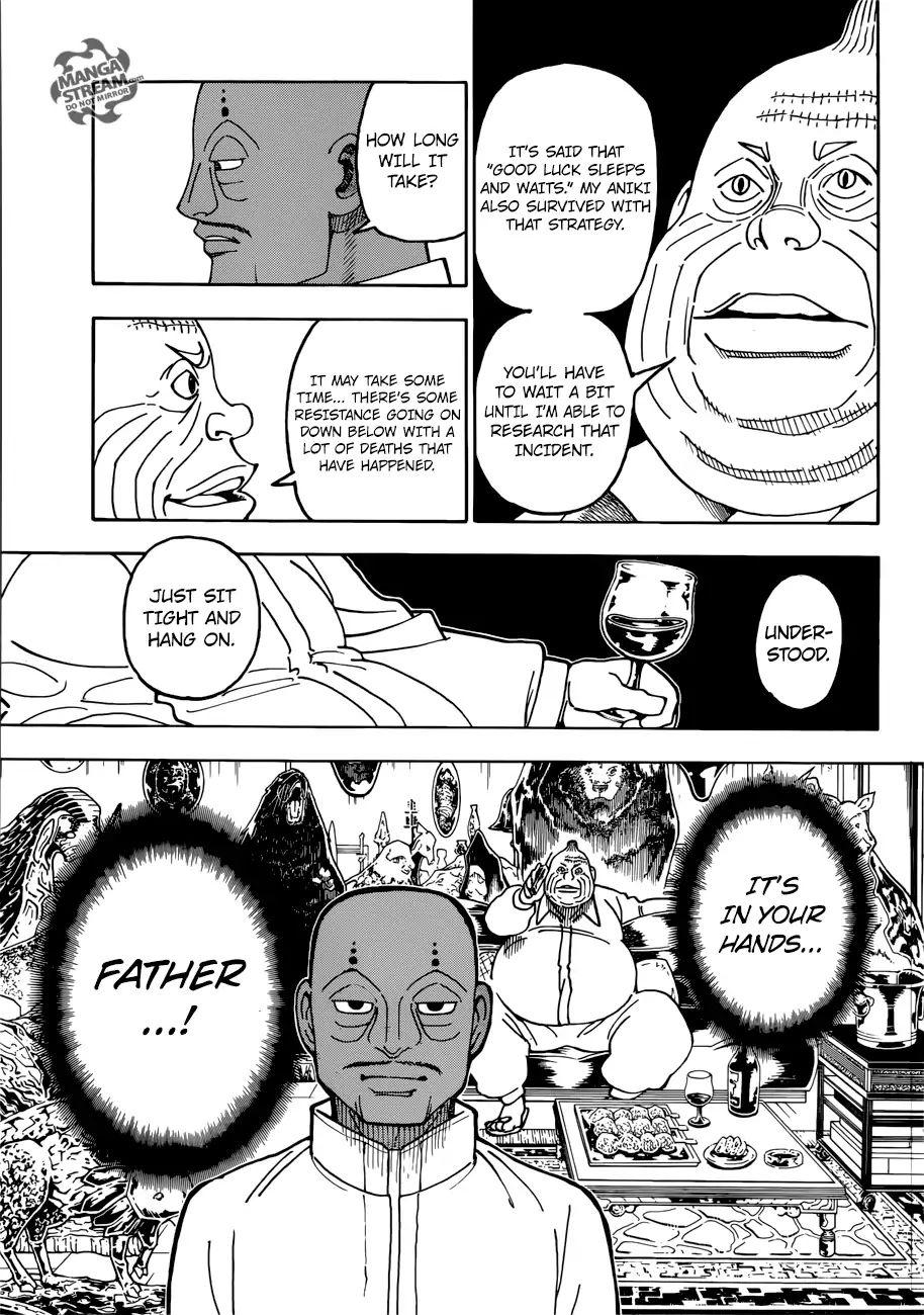 Hunter X Hunter Chapter 390  Online Free Manga Read Image 6