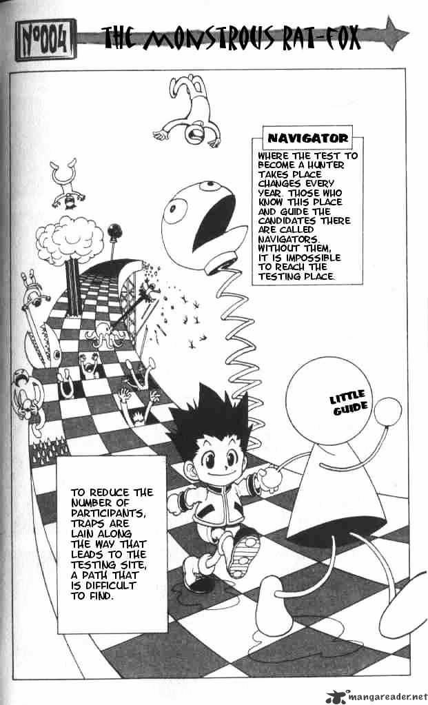 Hunter X Hunter Chapter 4  Online Free Manga Read Image 3