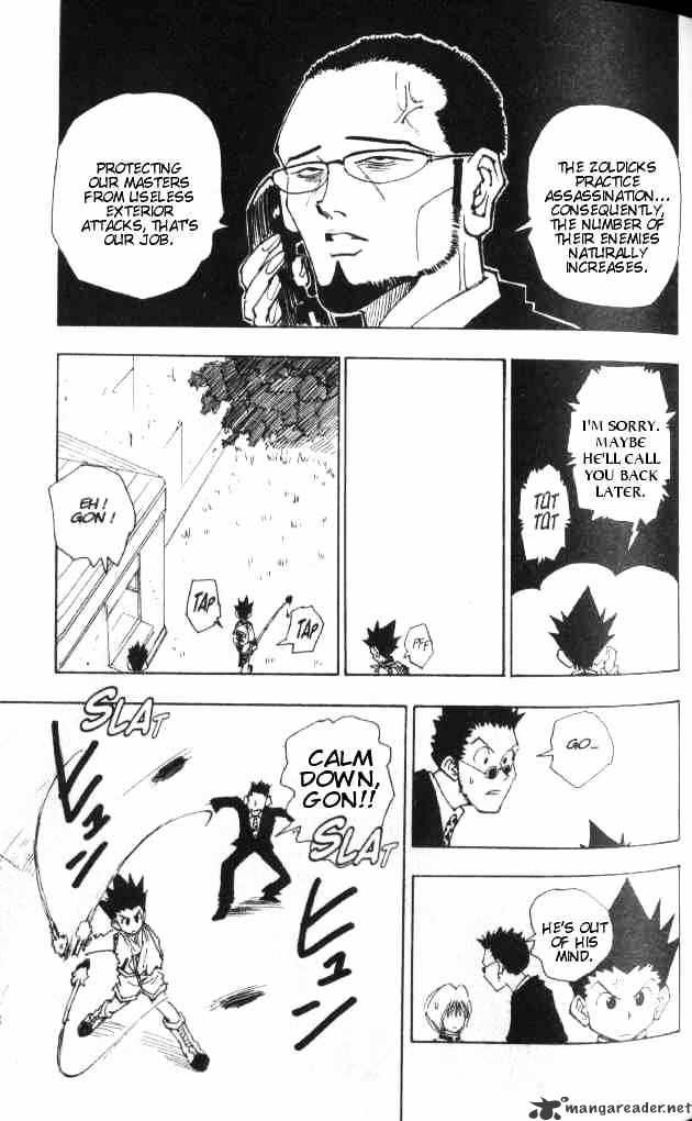 Hunter X Hunter Chapter 40  Online Free Manga Read Image 8