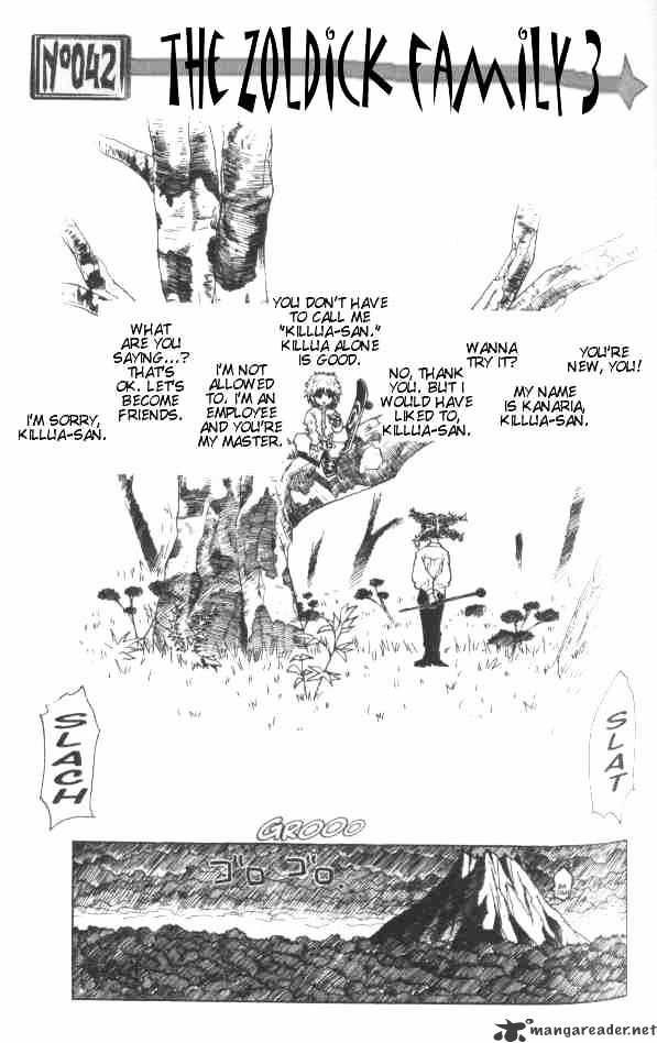 Hunter X Hunter Chapter 42  Online Free Manga Read Image 2