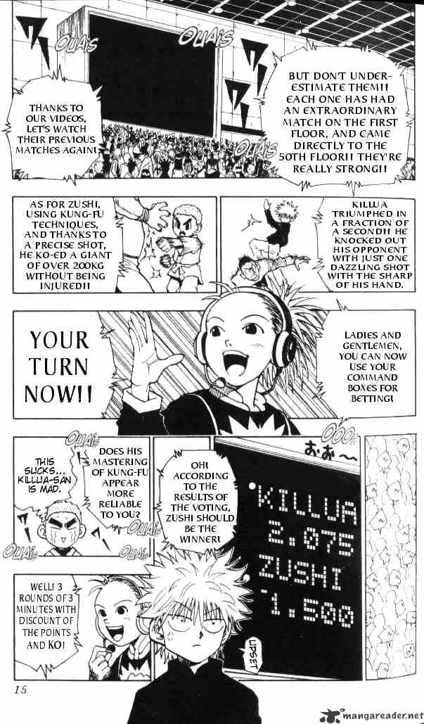 Hunter X Hunter Chapter 45  Online Free Manga Read Image 11