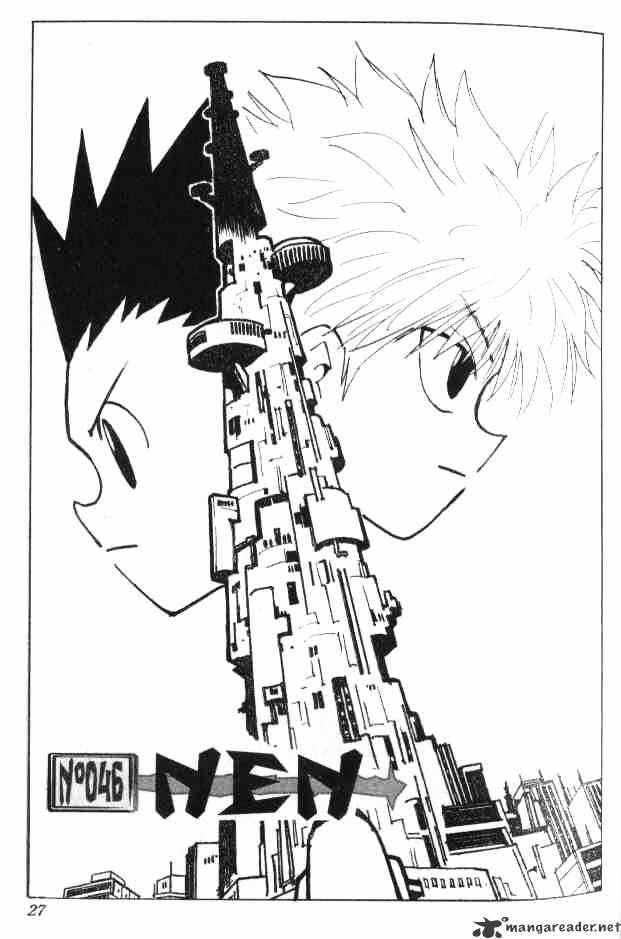 Hunter X Hunter Chapter 46  Online Free Manga Read Image 2