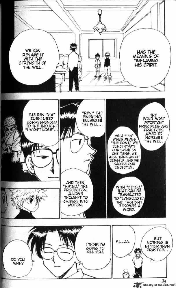 Hunter X Hunter Chapter 46  Online Free Manga Read Image 9