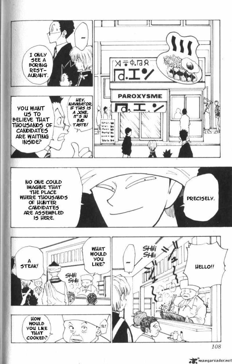 Hunter X Hunter Chapter 5  Online Free Manga Read Image 5