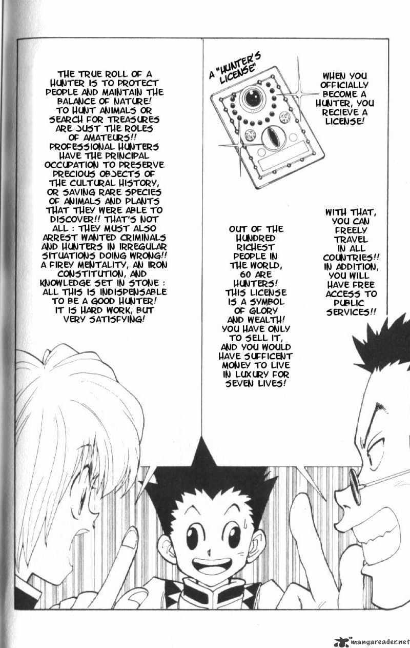 Hunter X Hunter Chapter 5  Online Free Manga Read Image 9