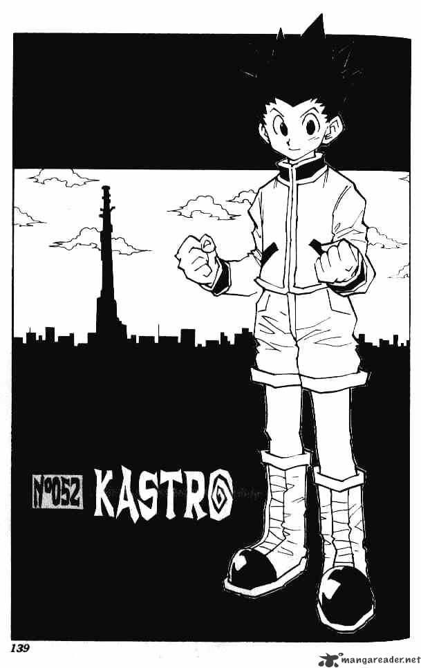 Hunter X Hunter Chapter 52  Online Free Manga Read Image 1