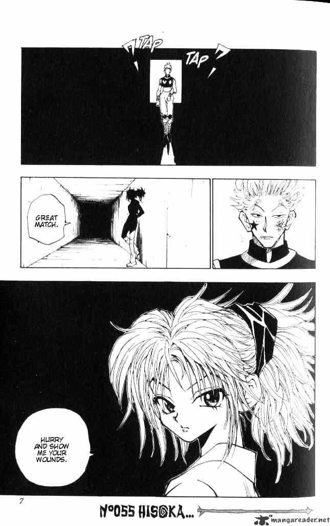 Hunter X Hunter Chapter 55  Online Free Manga Read Image 1