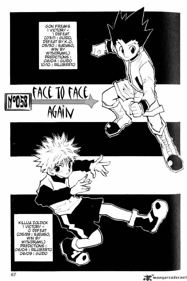 Hunter X Hunter Chapter 58  Online Free Manga Read Image 2