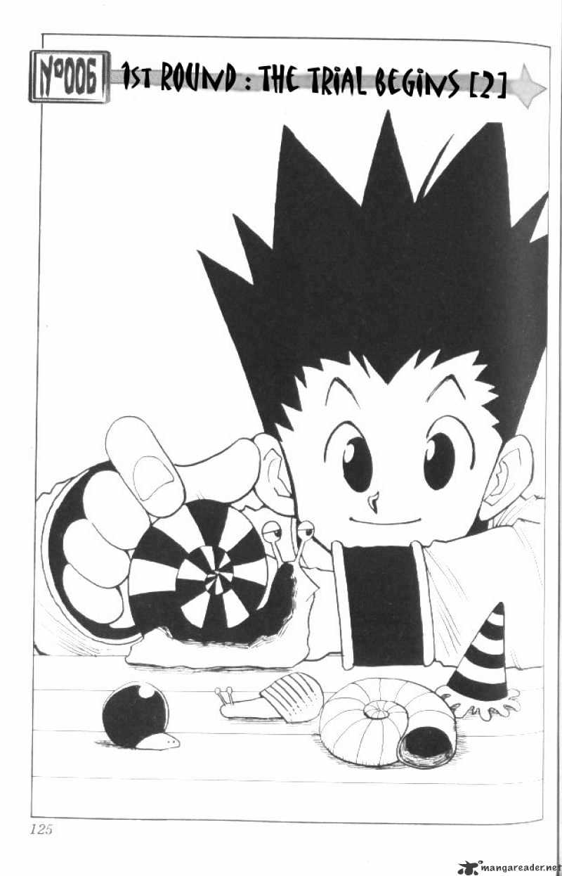Hunter X Hunter Chapter 6  Online Free Manga Read Image 2