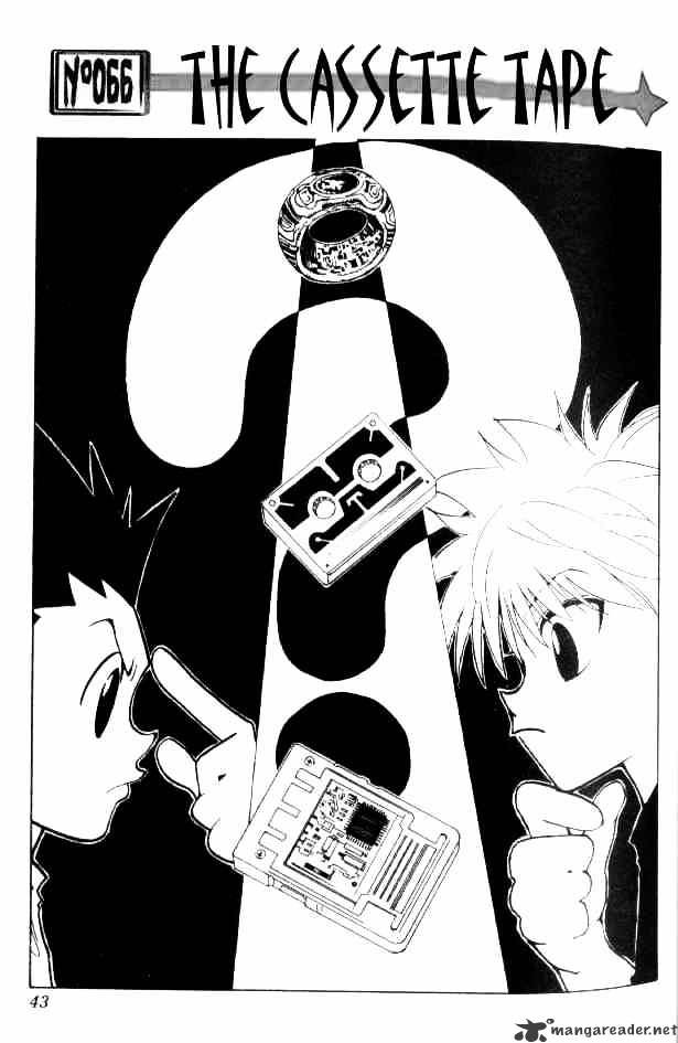 Hunter X Hunter Chapter 66  Online Free Manga Read Image 1