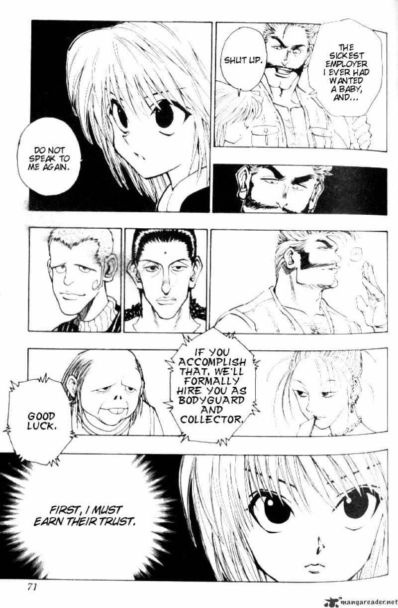 Hunter X Hunter Chapter 67  Online Free Manga Read Image 9