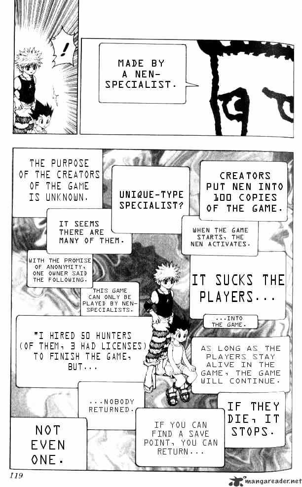 Hunter X Hunter Chapter 70  Online Free Manga Read Image 5