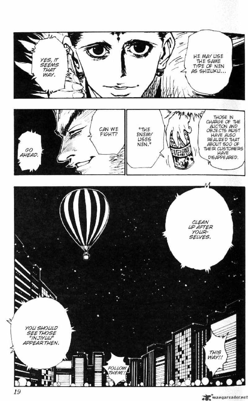 Hunter X Hunter Chapter 74  Online Free Manga Read Image 15