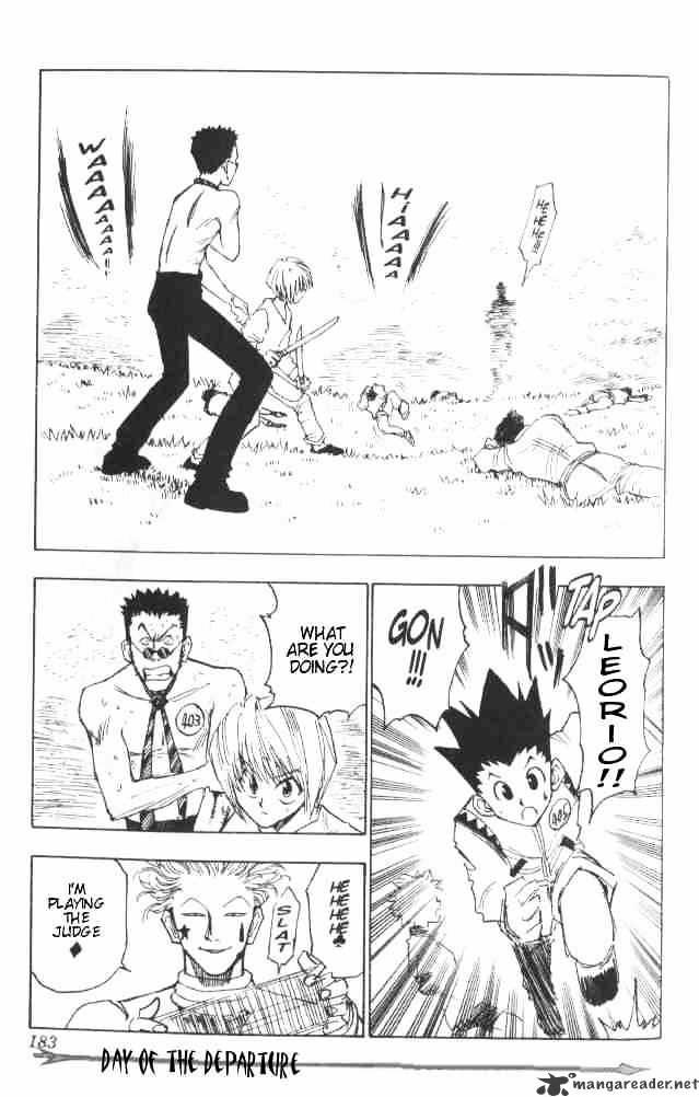 Hunter X Hunter Chapter 8  Online Free Manga Read Image 20