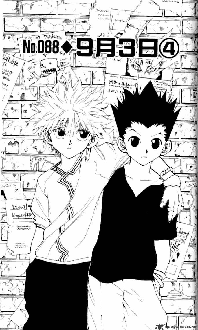 Hunter X Hunter Chapter 88  Online Free Manga Read Image 1