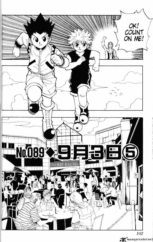 Hunter X Hunter Chapter 89  Online Free Manga Read Image 2