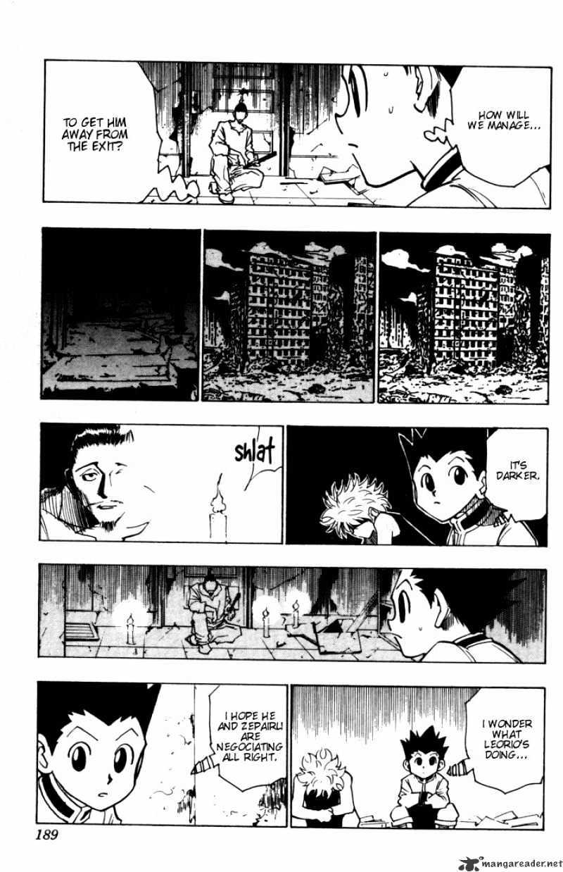 Hunter X Hunter Chapter 93  Online Free Manga Read Image 9