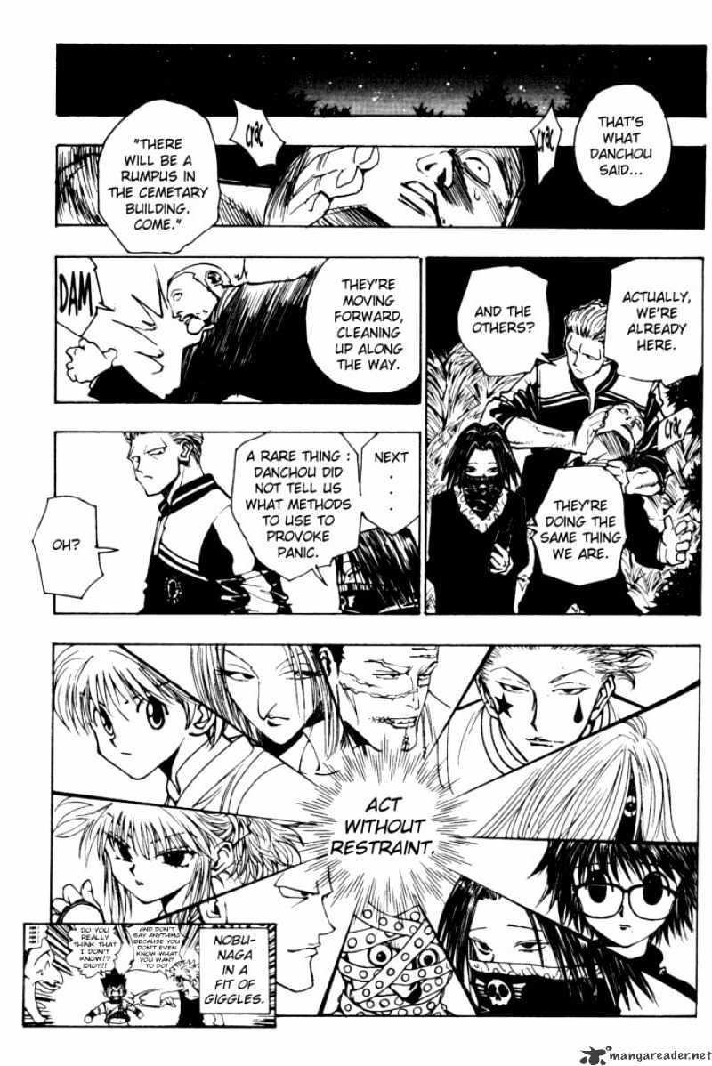 Hunter X Hunter Chapter 96  Online Free Manga Read Image 15