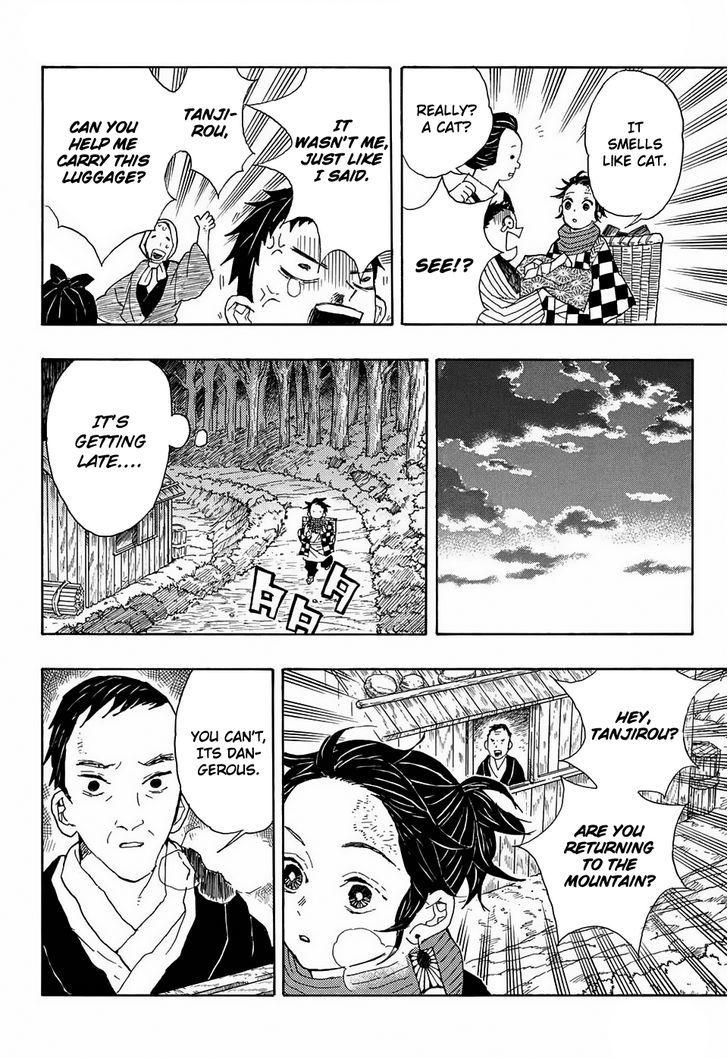 Kimetsu no Yaiba Chapter 1 Online Free Manga Read Image 10