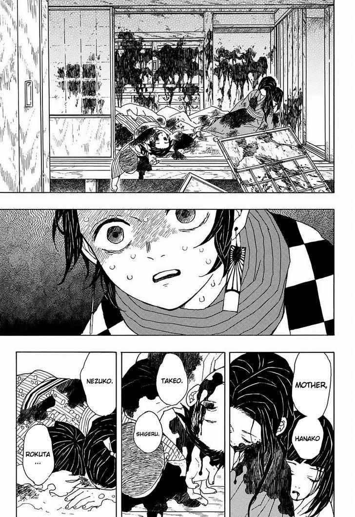 Kimetsu no Yaiba Chapter 1 Online Free Manga Read Image 15