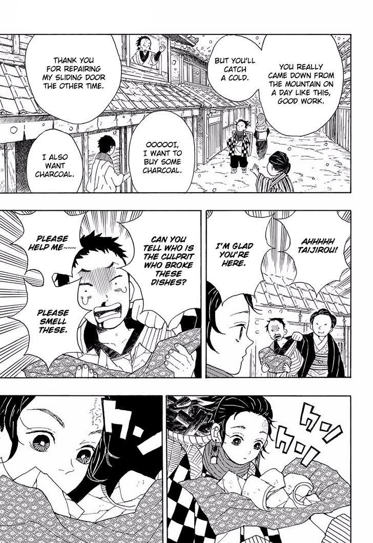 Kimetsu no Yaiba Chapter 1 Online Free Manga Read Image 9