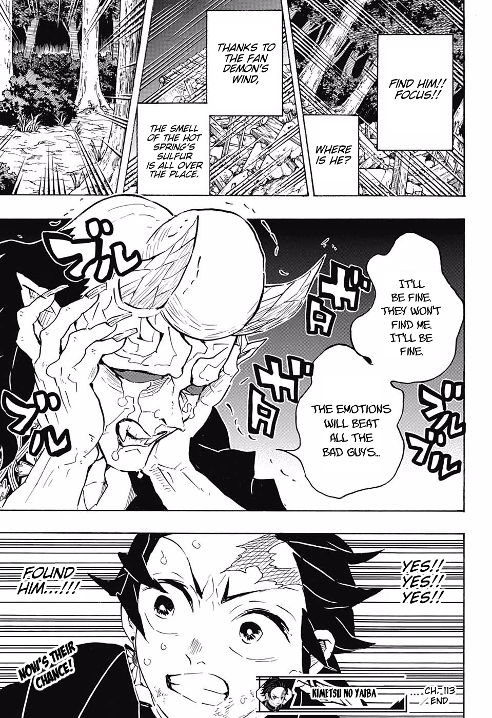 Kimetsu no Yaiba Chapter 113  Online Free Manga Read Image 18