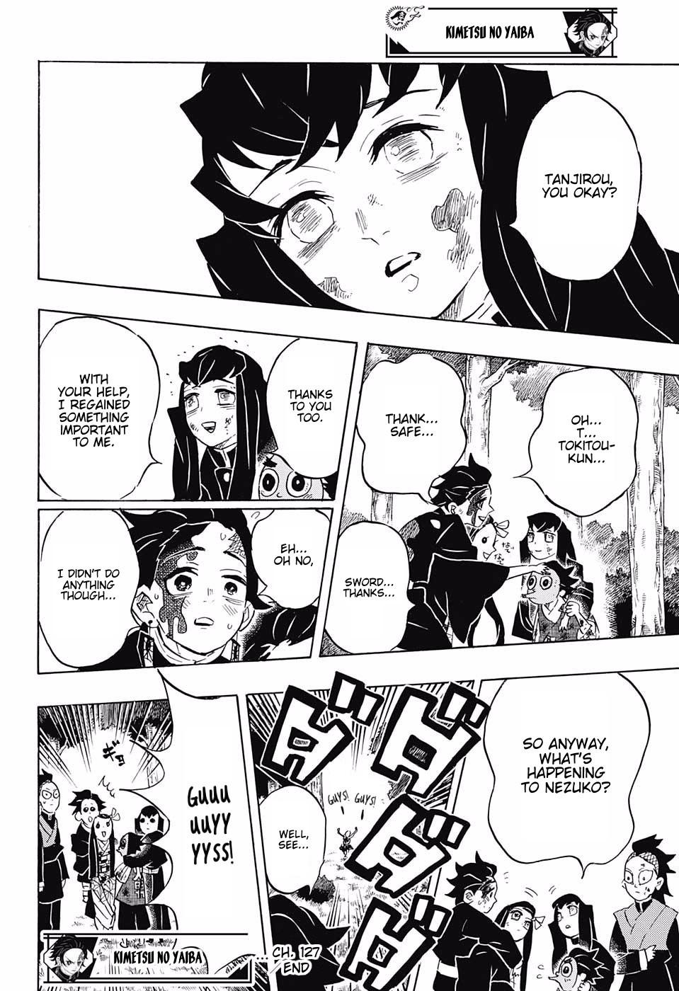 Kimetsu no Yaiba Chapter 127  Online Free Manga Read Image 18