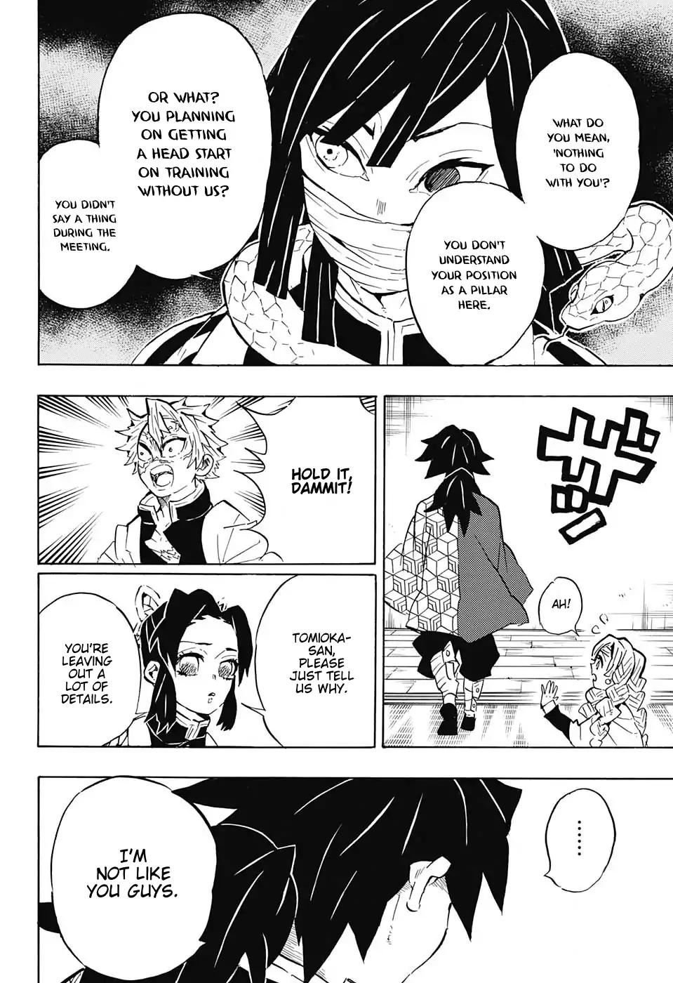 Kimetsu no Yaiba Chapter 129  Online Free Manga Read Image 8