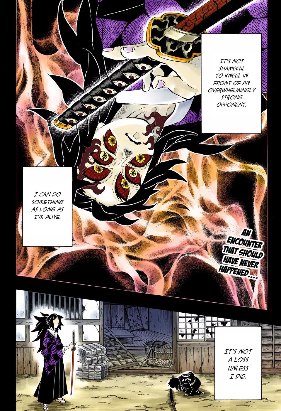 Kimetsu no Yaiba Chapter 145  Online Free Manga Read Image 2