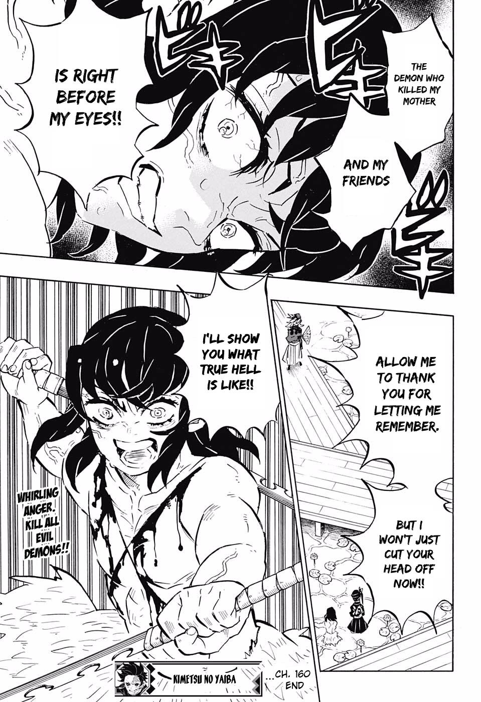 Kimetsu no Yaiba Chapter 160  Online Free Manga Read Image 19