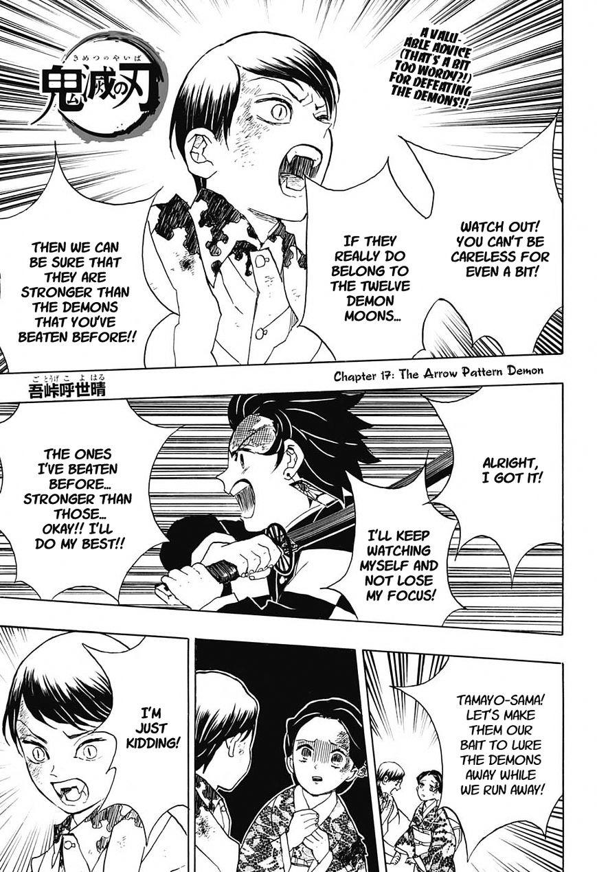 Kimetsu no Yaiba Chapter 17  Online Free Manga Read Image 1