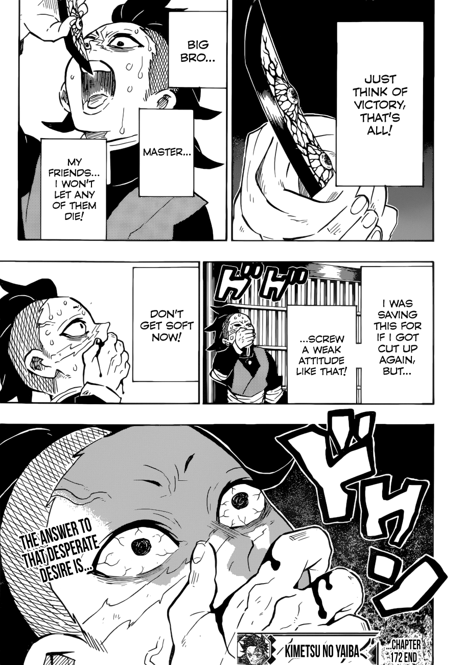 Kimetsu no Yaiba Chapter 172  Online Free Manga Read Image 20