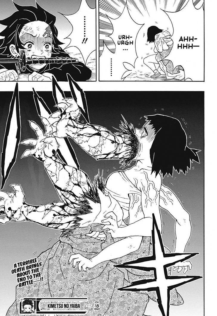 Kimetsu no Yaiba Chapter 18  Online Free Manga Read Image 19