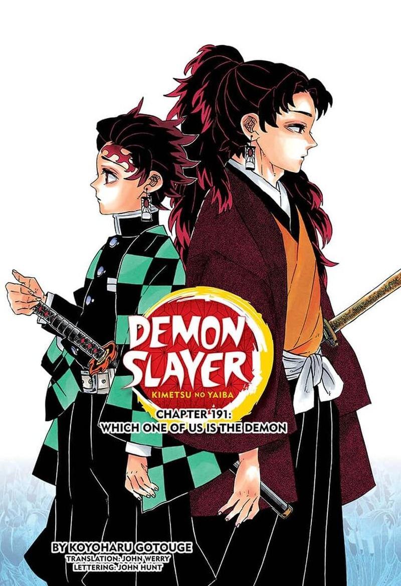 Kimetsu no Yaiba Chapter 191  Online Free Manga Read Image 1
