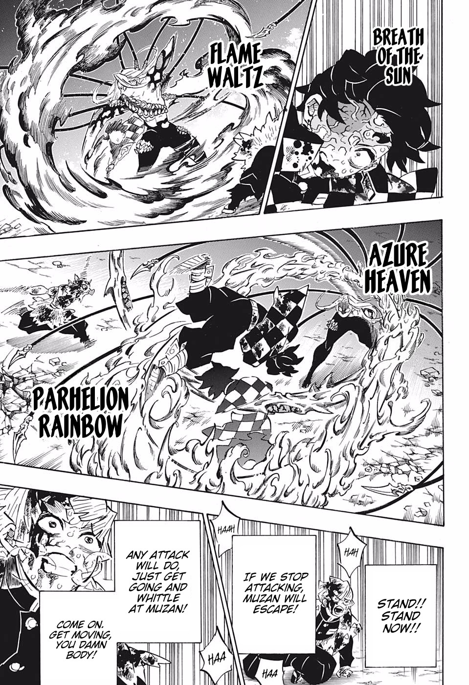 Kimetsu no Yaiba Chapter 198  Online Free Manga Read Image 9
