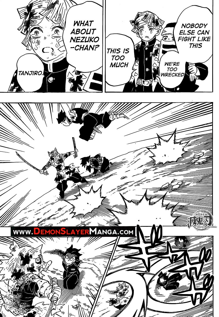 Kimetsu no Yaiba Chapter 201  Online Free Manga Read Image 17
