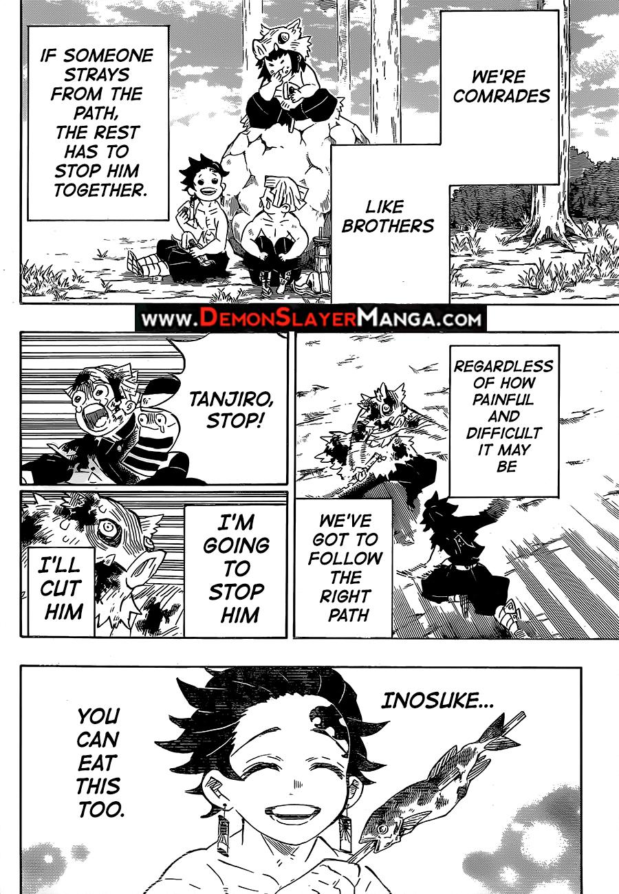 Kimetsu no Yaiba Chapter 201  Online Free Manga Read Image 18