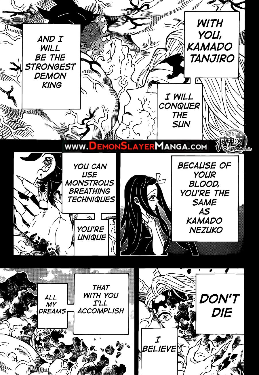 Kimetsu no Yaiba Chapter 201  Online Free Manga Read Image 5