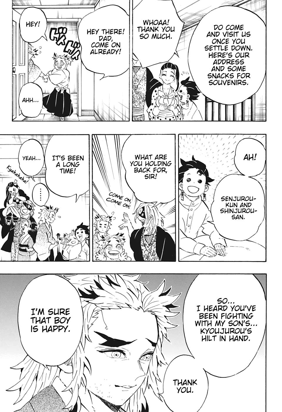 Kimetsu no Yaiba Chapter 204  Online Free Manga Read Image 17