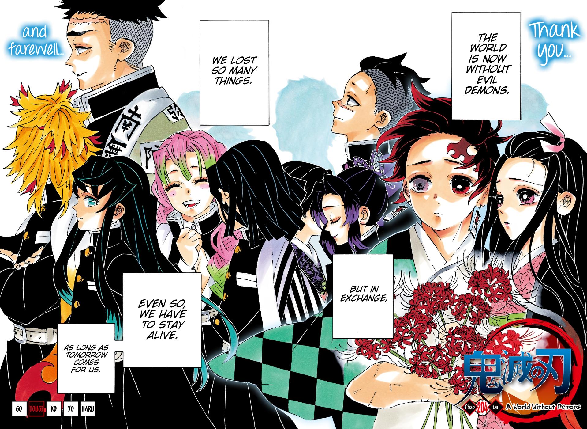 Kimetsu no Yaiba Chapter 204  Online Free Manga Read Image 5