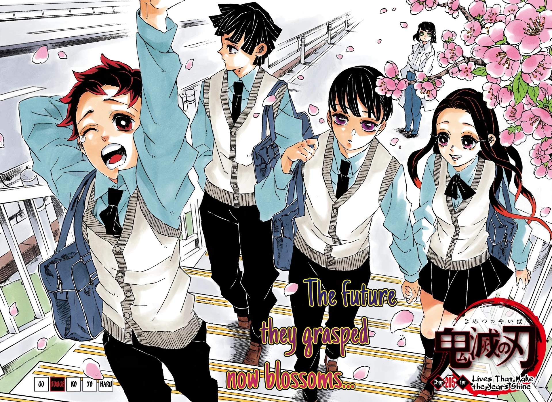 Kimetsu no Yaiba Chapter 205  Online Free Manga Read Image 2