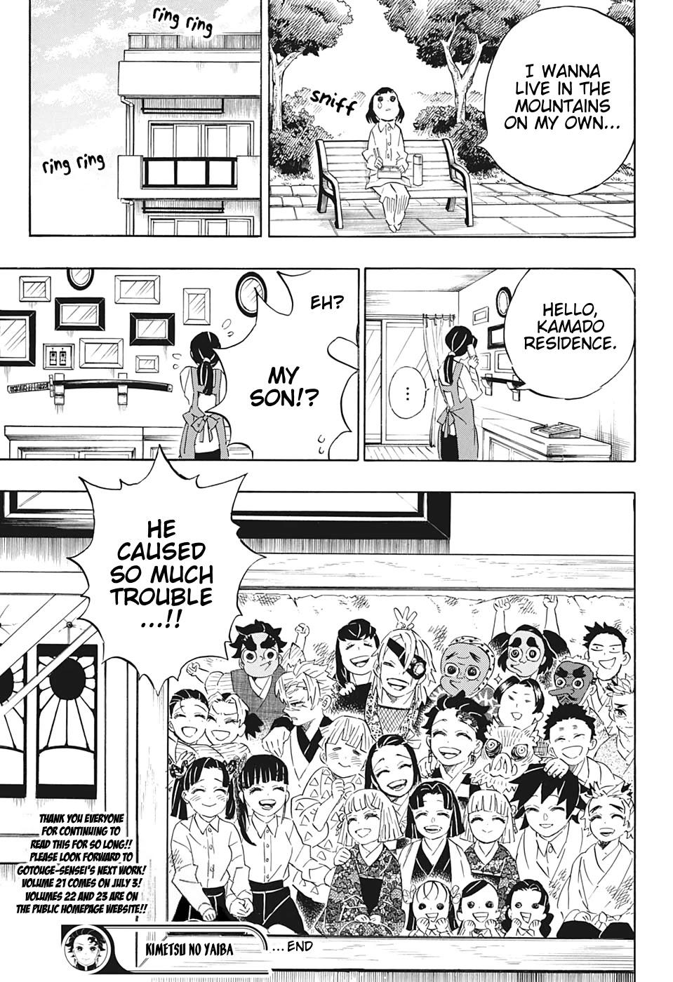 Kimetsu no Yaiba Chapter 205  Online Free Manga Read Image 24